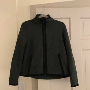 Lululemon Gray Zip Up Jacket